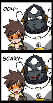 OOH~SCARY! by picketG