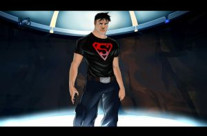 Superboy Colored by Animixter