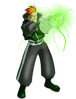 Guy Gardner, redesign by jtraveller