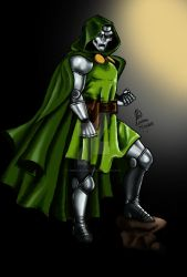 Doctor Doom (shadows) by TimeLadyGirlLDC
