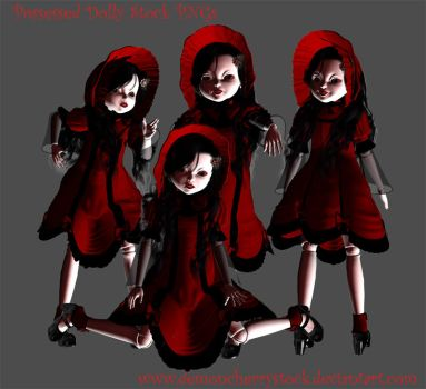Possessed Doll Stock Pack by DemoncherryStock