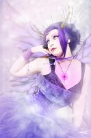 Purple Fay by MADmoiselleMeli