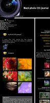 black photo CSS journal by wind-hime-kaze