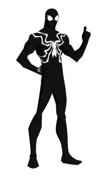 The Marvel Project: Symbiote Spider-Man by huatist