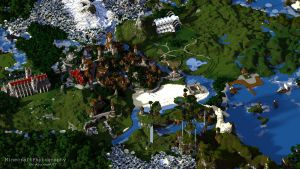 Sharthur City Project [Medieval Minecraft City] by MinecraftPhotography