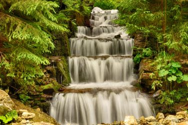 waterfall by Lk-Photography