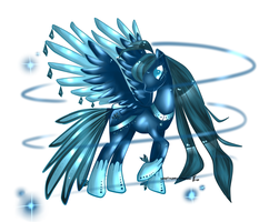sapphire peacock MLp adoptable CLOSED by AquaGalaxy