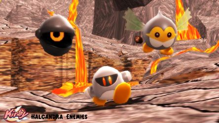 (MMD/XPS Model) Halcandra Enemies Download by SAB64