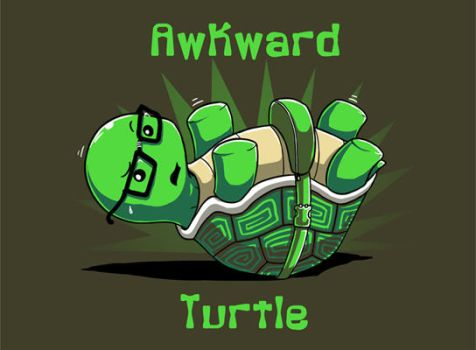 Awkward Turtle by ramy
