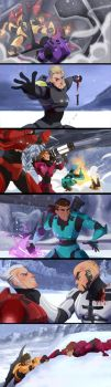 Red VS Blue - Screenshots Redraws 2 by YAMsgarden