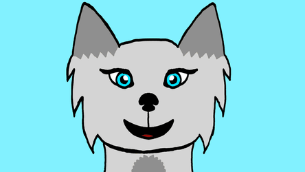 Wolf Art From 1 Year Ago by SophieTheFox