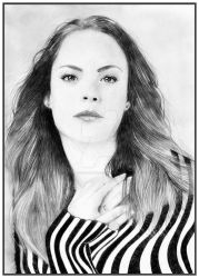 Berenice BEJO by loic-drawing