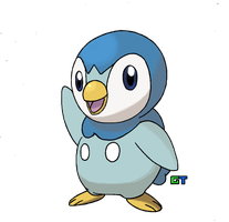 #393 - Piplup by GTS257-CT