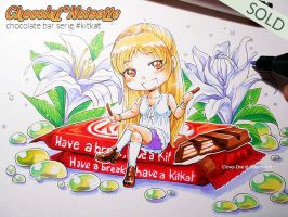 Chocolate Bar Serie :: KITKAT :: by CloverDoe