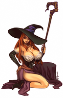 Happy B-day Shunkaku | Dragon's Crown Sorceress by ryumo