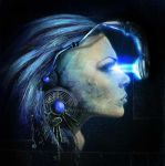 blue vision by sabine777