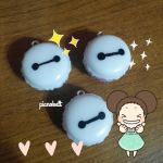 Baymax Resin Macaroon Charms by pianobelt0