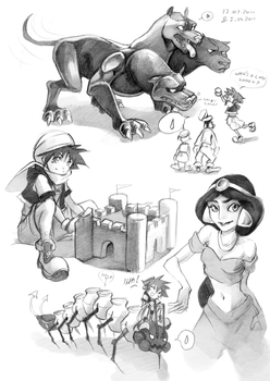 KH: Play and sketch part 4 by Anyarr