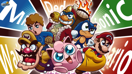 SMASH WALLPAPER - Meet the Mains by MarkProductions