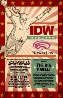 IDW Live at Wondercon 2013 by mytymark