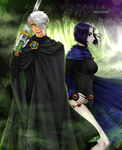Commission: Danny and Raven by manu-chann