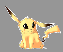 Pikachu is adorable by Maoise