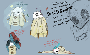 Asylumtale sans sketches - 2 by SweetSugerApple