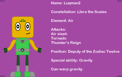 Mixels AU: Luqman2 by RedShamrock56