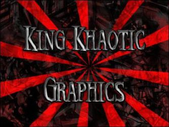 King Khaotic logo by KidKhaos17