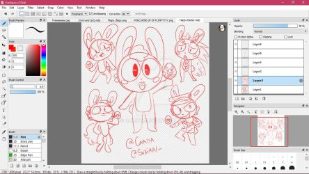 Happy Easter y'all I'm lazy to finish this xD by Cariya