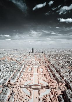 A View of Paris I by mitchellnelsonphotos