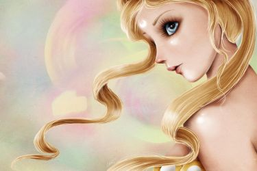 Princess Serenity by madmoiselleclau