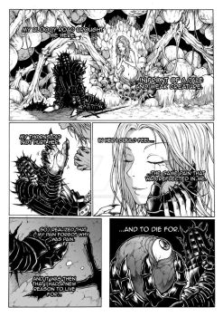 Thorn of hate - Dark Souls comic PAG 8