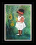 ...Little brown girl II by floriaiglenoir