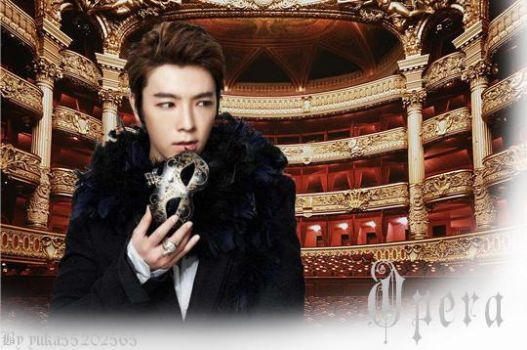Donghae at the opera house by yuka55202565