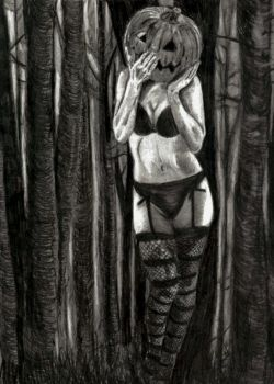 Madame-Pumpkinhead by Orion12212012
