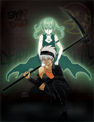 Weapon Inversion Fanzine - Maka and Soul by nori-wings