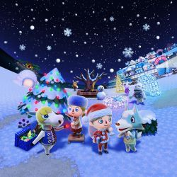 Animal Crossing New Leaf - Winter/Inverno by Kharthoffen