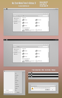 Mac iYosem Minimal Theme Win10 Fall Creators by Cleodesktop