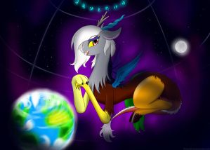 For Glorious Chaos by BluDraconoid
