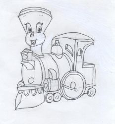 Tillie: the little engine by the-dreamer-queen