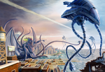 War of the Worlds Vs. Cthulhu by Ito-Saith-Webb