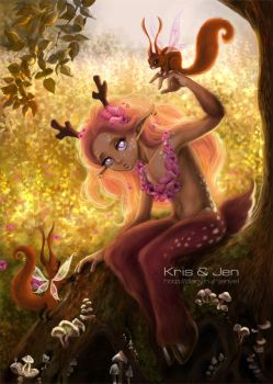 Fawn. by jen-and-kris