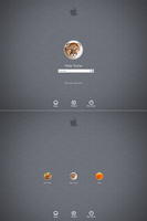 OSX Mountain Lion logon for Windows7 by PeterRollar