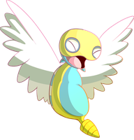 Dunsparce by DoctorNuclear