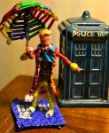 Sixth Doctor made out of twist ties by justjake54