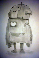 Heart of a Robot by Hoboballan