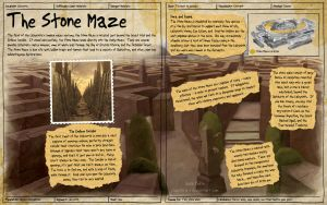 Labyrinth Guide - Stone Maze by Chaotica-I