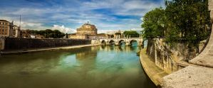 Ponte Sant'Angelo by Sh000rty