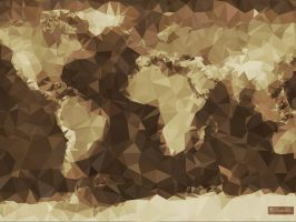 The World (Simplified) by vladstudio